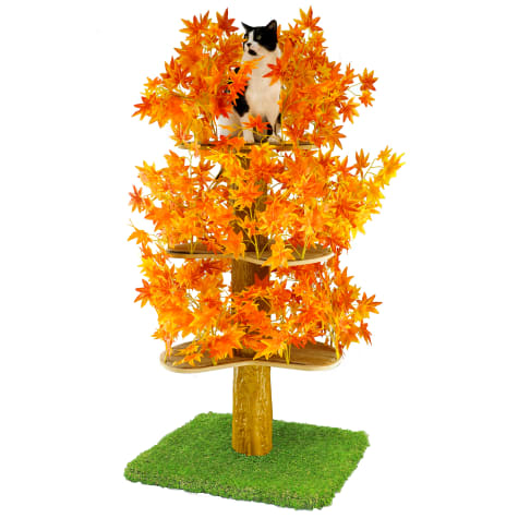 On2Pets Fall Square Cat Tree