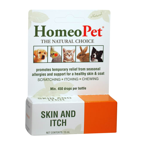 HomeoPet Skin & Itch Relief for Pets