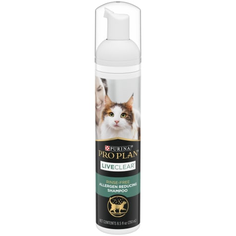 Purina Pro Plan LiveClear Rinse Free Allergen Reducing Shampoo for Cats