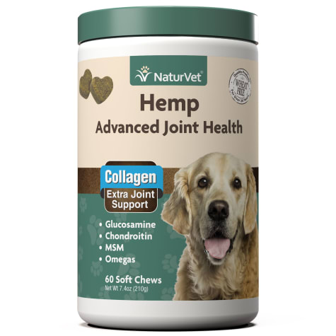 NaturVet Hemp Advanced Joint Health Dog Soft Chew