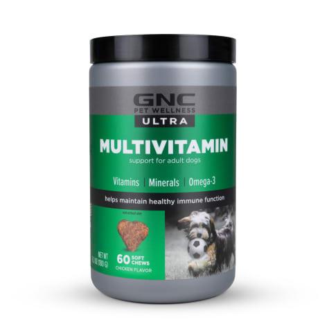 GNC Ultra Multivitamin Chicken Flavor Soft Chews for Dogs