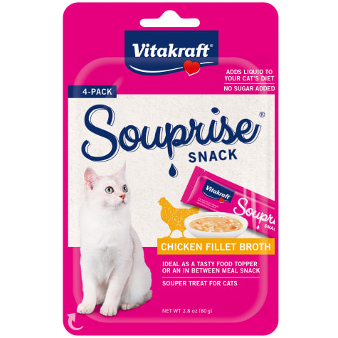 Vitakraft Souprise Snack Chicken Flavor Cat Treats