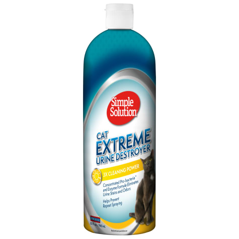 Simple Solution Urine Destroyer, Stain and Odor Remover for Cats