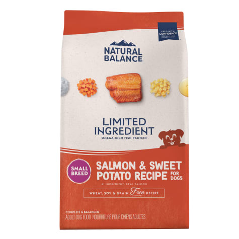 Natural Balance L.I.D. Limited Ingredient Diets Salmon & Sweet Potato Formula Small Breed Bites Dry Dog Food