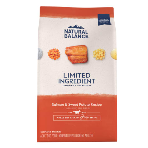 Natural Balance L.I.D. Limited Ingredient Diets Salmon & Sweet Potato Formula Dry Dog Food