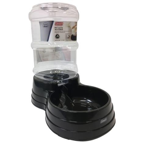 Coleman Black Gravity Waterer for Pets