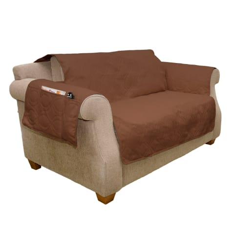 PETMAKER Pet Waterproof Brown Furniture Cover
