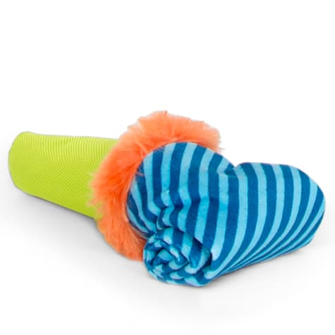 Bark Roll Over Party Blower Dog Toy