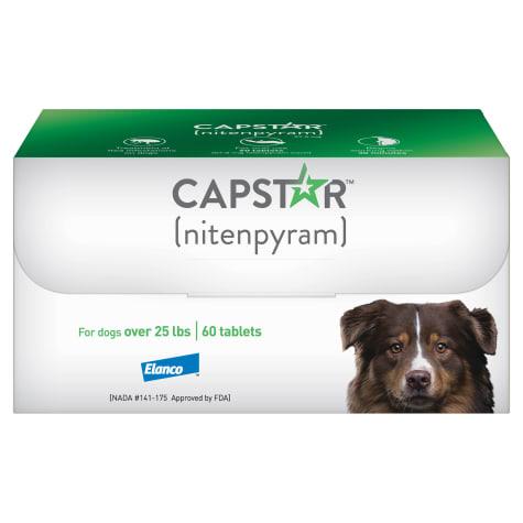 Capstar Flea Tablets for Dogs 25 lbs.