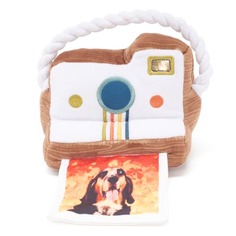Bark Fallaroid Camera Dog Toy