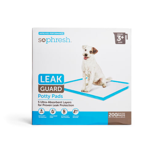 So Phresh Large Leak Guard Quilted Potty Pads