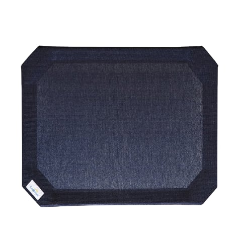 Coolaroo Navy Blue Elevated Dog Bed Replacement Cover