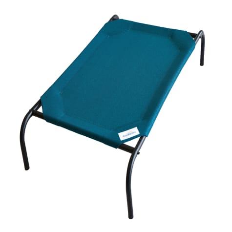 Coolaroo Turquoise Elevated Dog Bed
