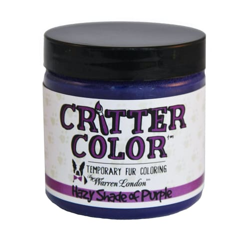 Warren London Critter Color Hazy Shade Of Purple Temporary Fur Coloring for Dogs