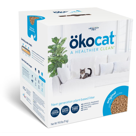 Okocat Original Premium Clumping Wood Cat Litter