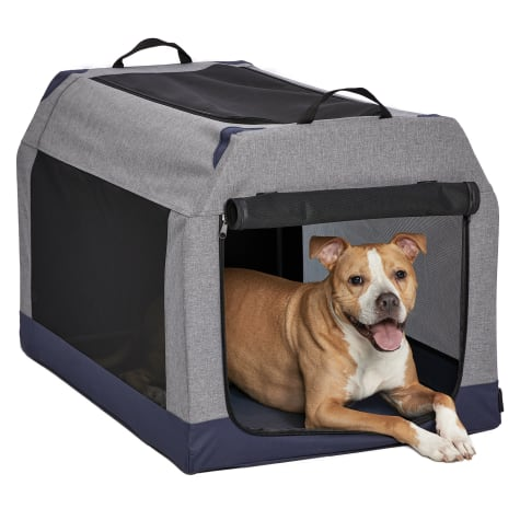 Midwest Gray Canine Camper Soft Tent Dog Crate