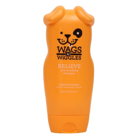 Wags & Wiggles Relieve Itch-Soothing Tropical Mango Dog Shampoo