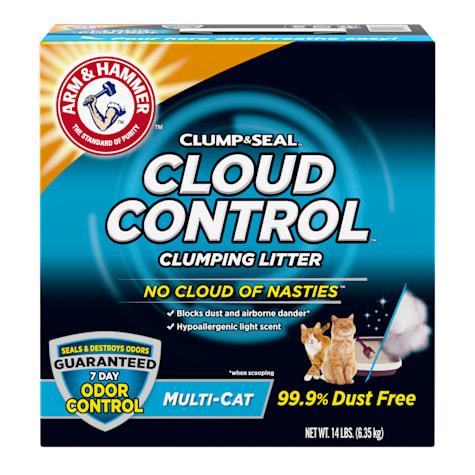 Arm & Hammer Clump & Seal Cloud Control Multi-Cat Clumping Litter
