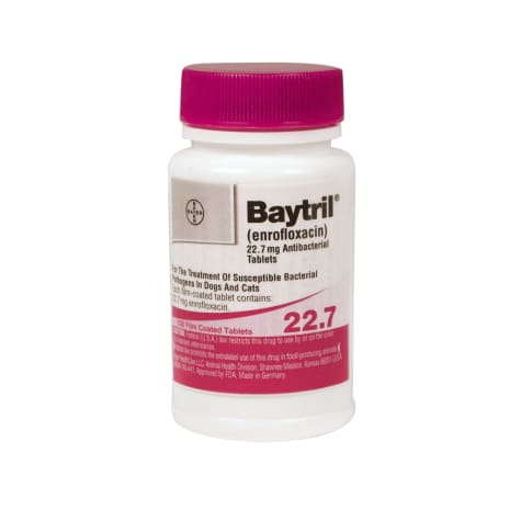 Baytril 22.7 mg Film-Coated Tablets