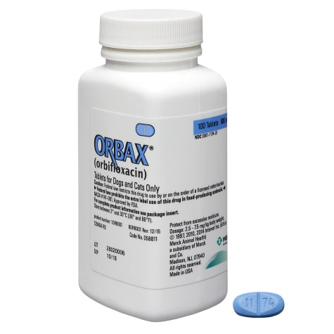 Orbax 68 mg Tablets