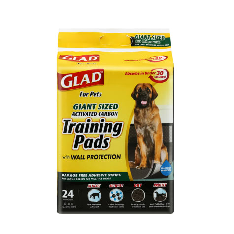 GLAD for Pets Giant Size Activated Carbon Puppy Training Pads