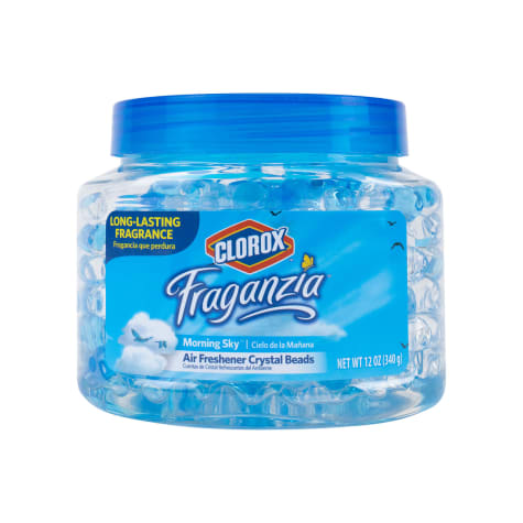 Clorox Fraganzia Air Freshener Crystal Beads in Morning Sky Scent