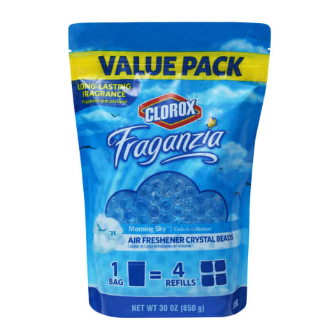 Clorox Fragranzia Air Freshener Crystal Beads in Morning Sky Scent