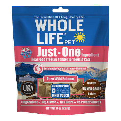Whole Life Freeze Dried Pure Salmon Fillet Whole Food Dog & Cat Treats