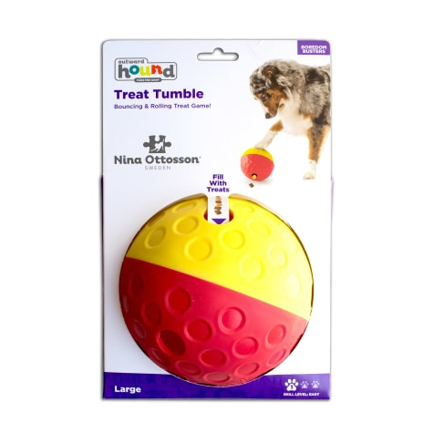 Outward Hound Treat Tumble Interactive Puzzle Dog Toy