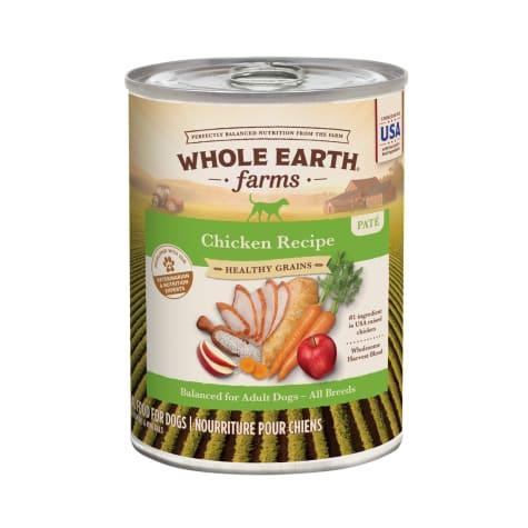 Whole Earth Farms Grains Adult Receipe Wet Dog Food