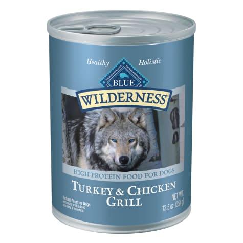 Blue Buffalo Blue Wilderness Turkey & Chicken Grill Wet Dog Food