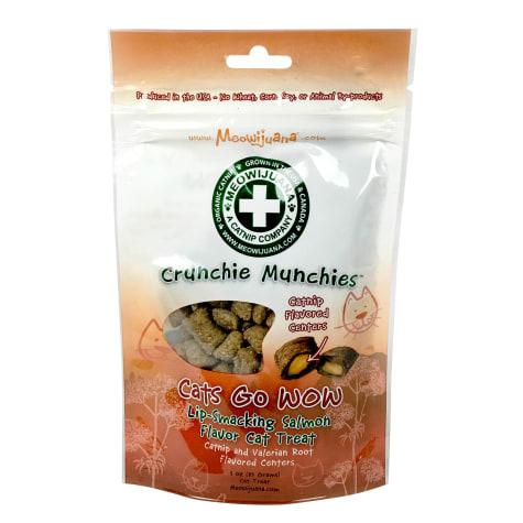 Meowijuana Crunchie Munchie Salmon Catnip Cat Treats