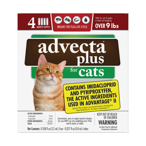 Advecta Plus Flea and Tick Treatment for Large Cats