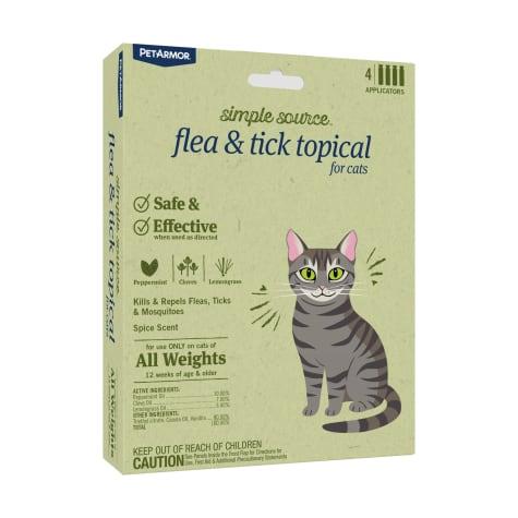 PetArmor Simple Source Flea & Tick Topical for Cats
