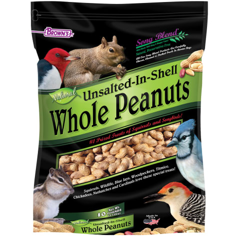 FM Browns Song Blend Unsalted In-Shell Whole Peanuts Bird Food