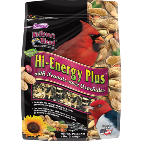 FM Browns Bird Lover's Blend Hi-Energy Plus with Peanuts Dry Food