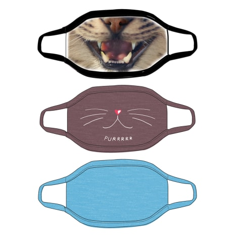 G&G Outfitters Cat Graphics Cloth Face Mask