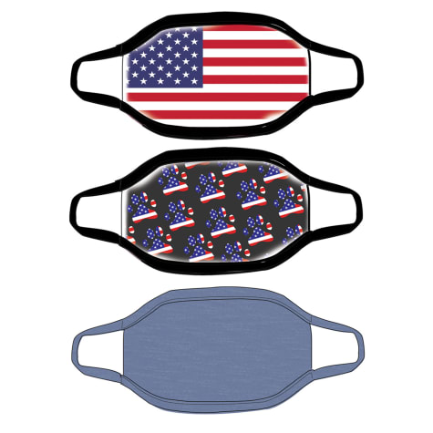 G&G Outfitters USA Graphics Cloth Face Mask