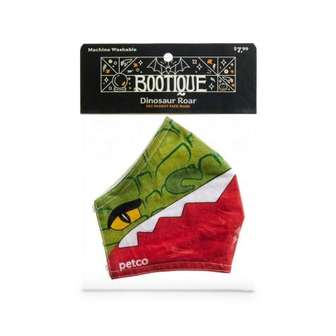 Bootique Dinosaur Roar Fabric Face Mask