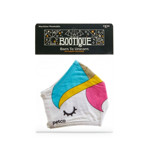 Bootique Born To Unicorn Fabric Face Mask