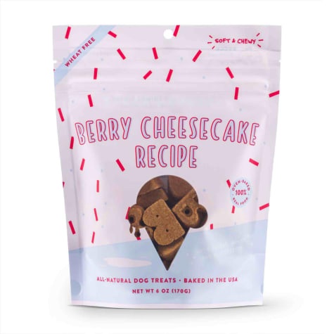 Bocce's Bakery Berry Cheesecake Soft & Chewy Dog Treats