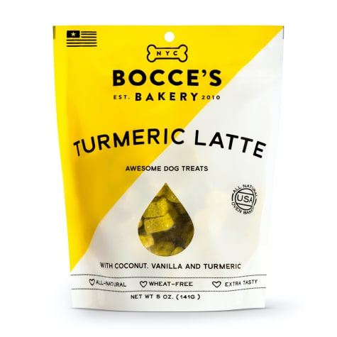 Bocce's Bakery Turmeric Latte Dog Biscuits
