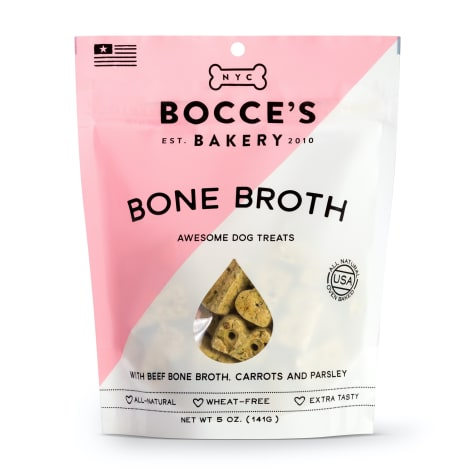 Bocce's Bakery Bone Broth Dog Biscuits