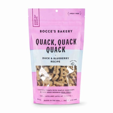 Bocce's Bakery Quack Biscuits for Dogs