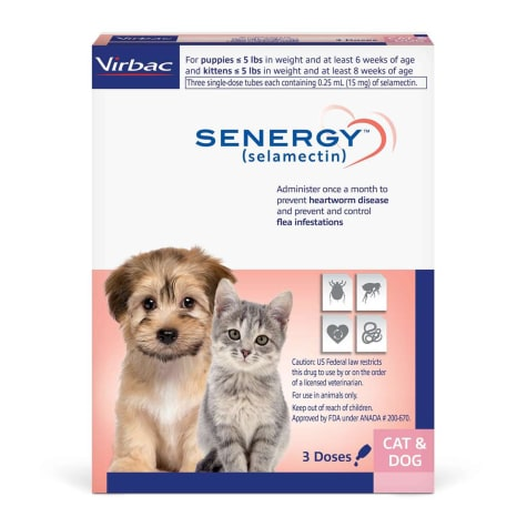 SENERGY TOPICAL 0-5 lbs. for Dogs and Cats