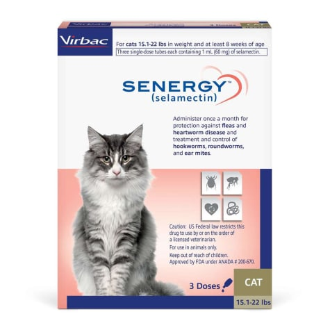 SENERGY TOPICAL 15.1-22 lbs. for Cats