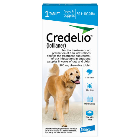 Credelio Chewable Tablet For Dogs 50.1-100 lbs.