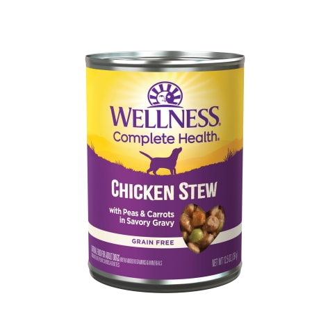 Wellness Chicken Stew with Peas & Carrots Canned Dog Food