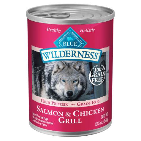Blue Buffalo Blue Wilderness Salmon & Chicken Grill Wet Dog Food