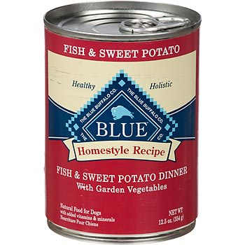 Blue Buffalo Blue Homestyle Recipe Fish And Sweet Potato Dinner With Garden Vegetables Wet Dog Food